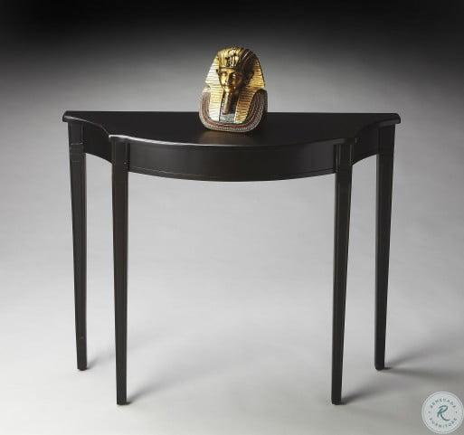 Chester Masterpiece Black Licorice Console Table