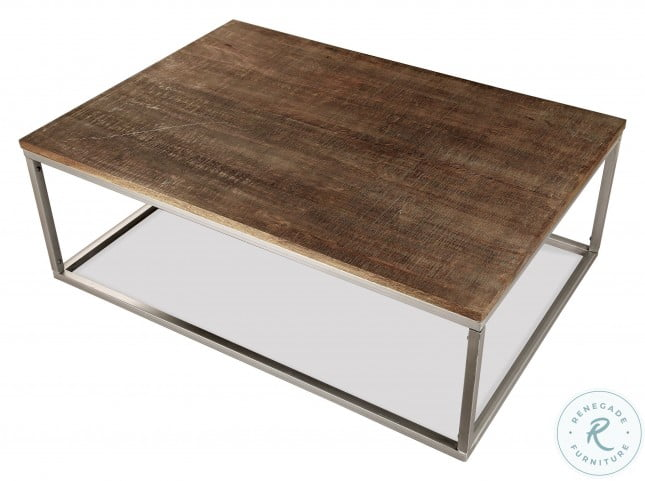 Fusion Brindled Fawn Rectangle Cocktail Table