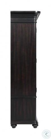 Clinton Hill Kohl Black Door Bookcase