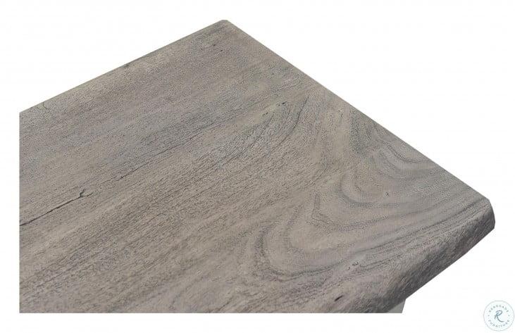 Waverly Sandblasted Gray Occasional Table Set