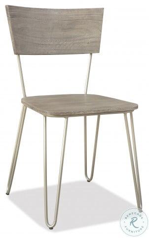Waverly Sandblasted Gray Side Chair Set Of 2
