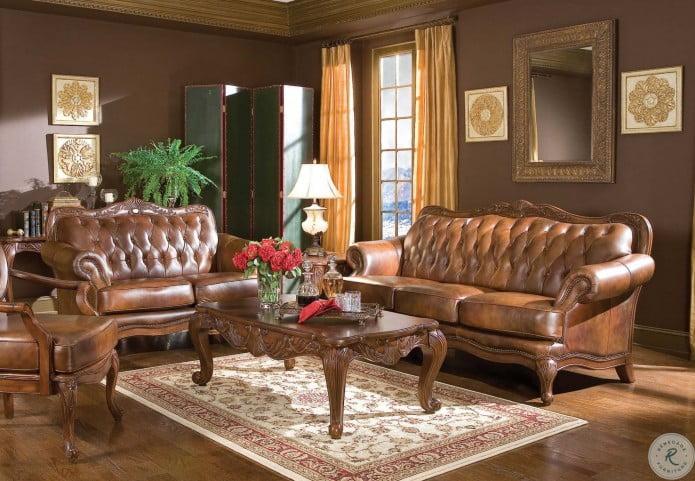 Victoria Tri Tone Living Room Set