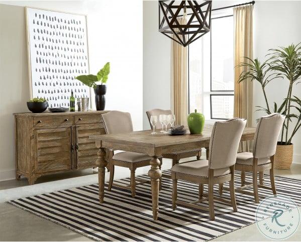 Sonora Snowy Desert Extendable Dining Room Set
