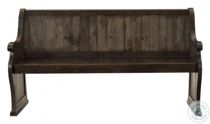 Gloversville Brown Bench