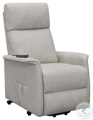 609407P Beige Power Lift Massage Chair