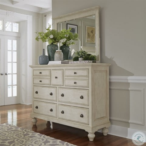 High Country White 7 Drawer Chesser