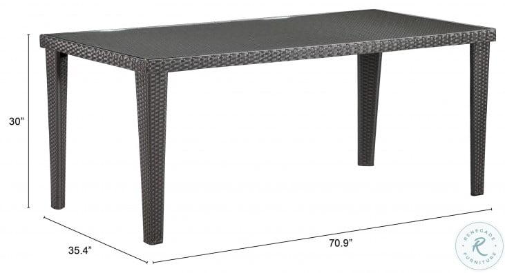 Cavendish Rectangular Outdoor Table