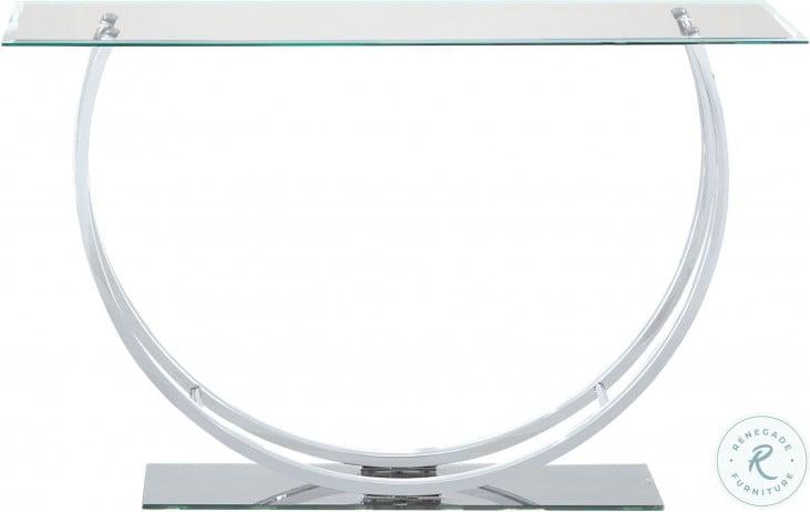 704989 Chrome Sofa Table