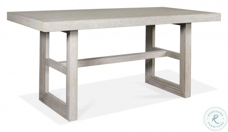 Cascade Dovetail Rectangular Counter Height Dining Table