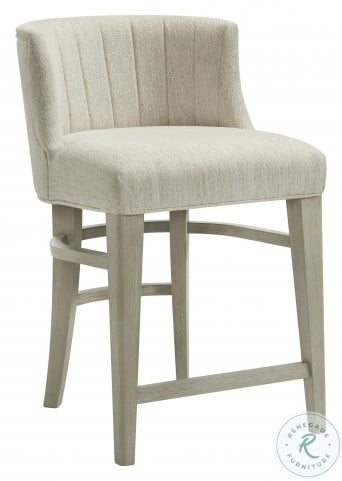 Cascade Dovetail Upholstered Curved Back Counter Height Stool Set Of 2