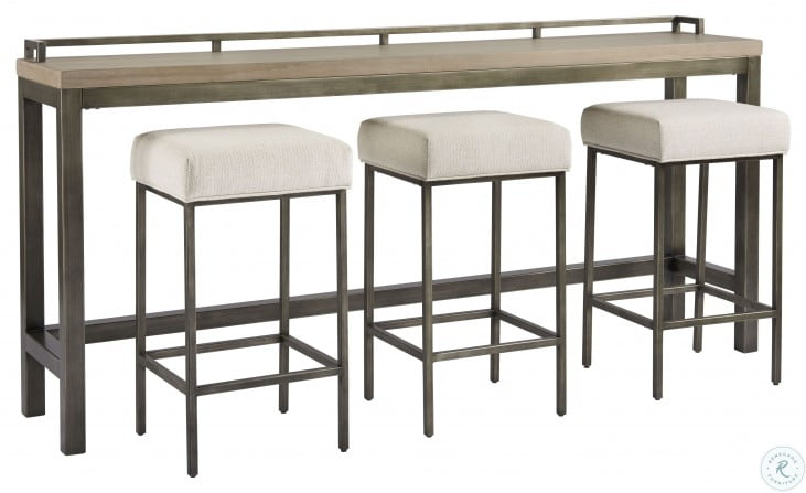 Curated Greystone Mitchell 4 Piece Counter Height Dining Set