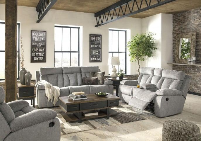 Mitchiner Fog Reclining Sofa