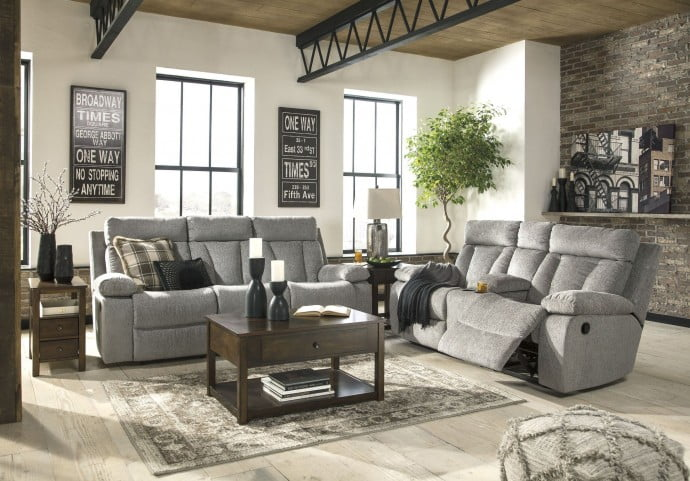 Mitchiner Fog Reclining Living Room Set