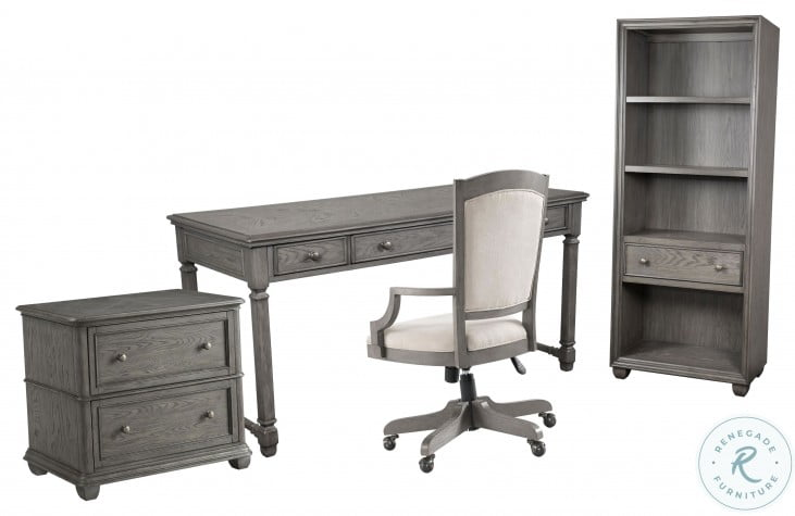 Sloane Gray Wash Lateral File Cabinet
