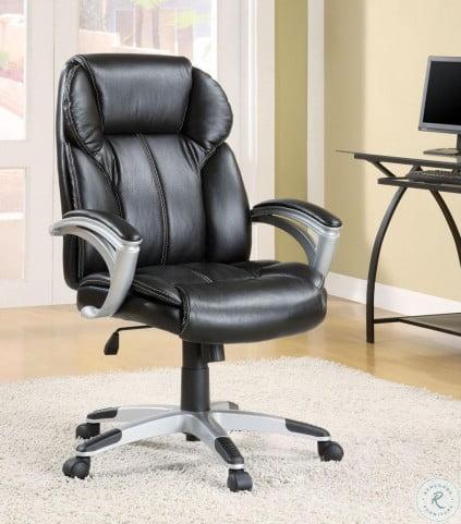 800038 Black Adjustable Office Chair
