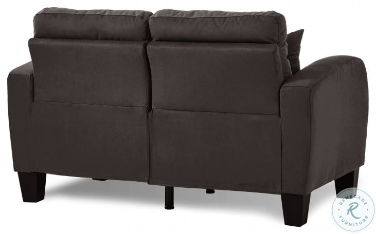 Sinclair Chocolate Living Room Set