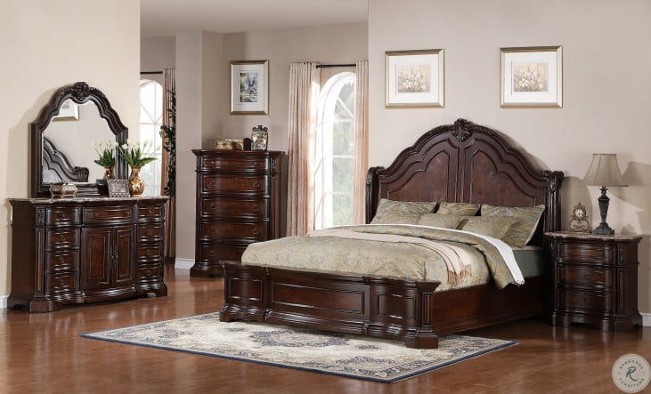 Edington Panel Bedroom Set