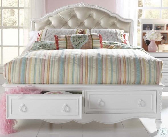 SweetHeart Youth Upholstered Storage Bedroom Set