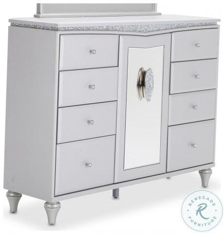 Melrose Dove Upholstered Dresser