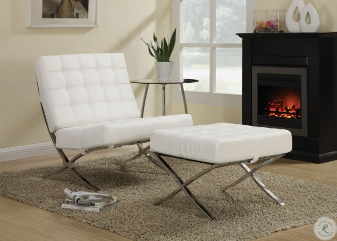 902183 White Accent Chair
