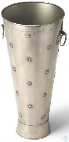 Richfield Antique Silver Umbrella Stand
