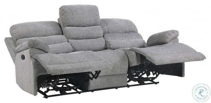 Sherbrook Gray Double Reclining Sofa
