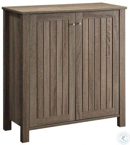 950551 Dark Taupe Shoe Cabinet