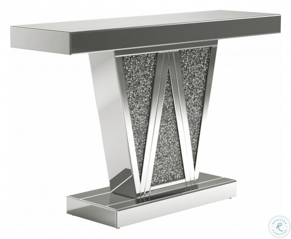 951786 Silver Console Table