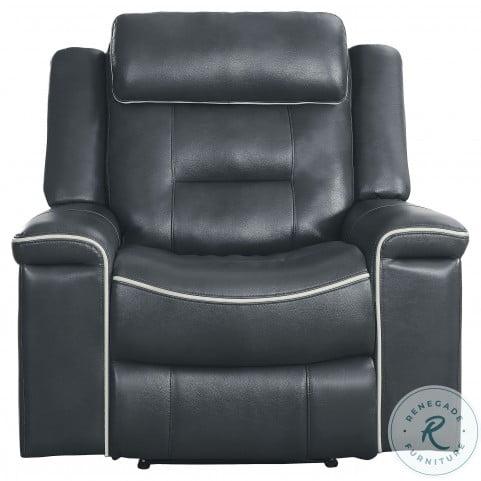 Darwan Dark Gray Lay Flat Reclining Chair