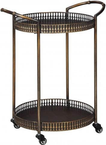 Clarkburn Bronze Bar Cart