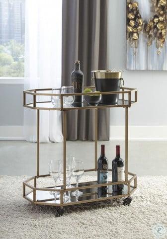 Daymont Gold Bar Cart