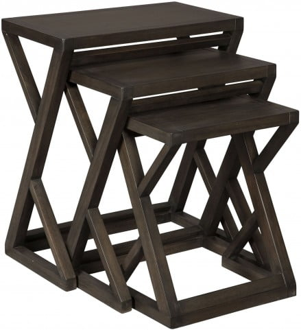 Cairnburg Gray Accent Table Set of 3