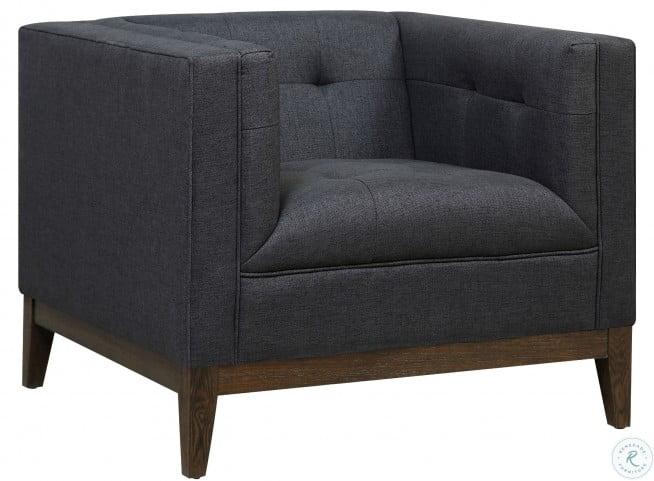 Gavin Gray Linen Chair
