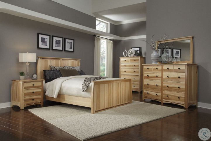 Adamstown Natural Panel Bedroom Set