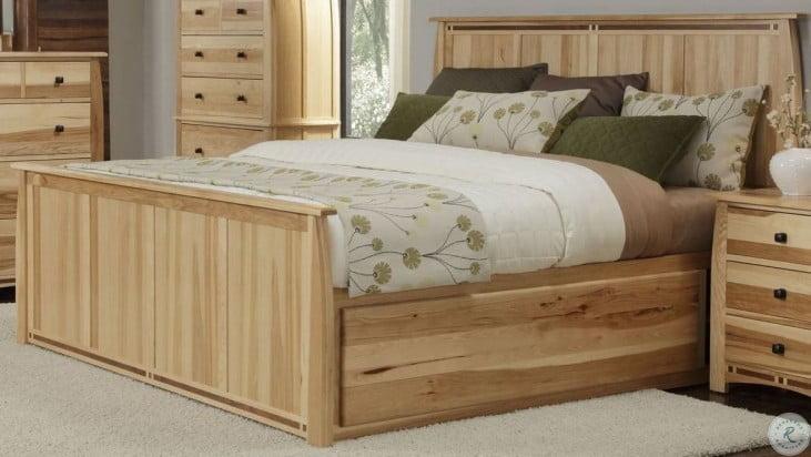 Adamstown Natural Storage Bedroom Set