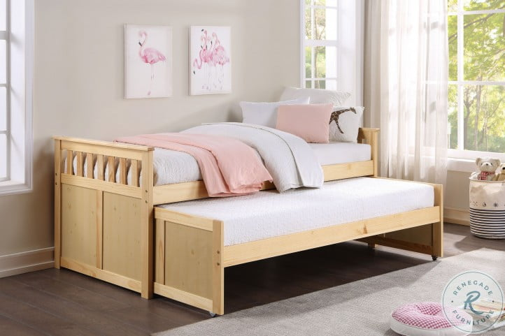 Bartly Natural Pine Youth DayBedroom Set