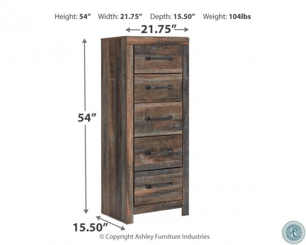 Drystan Multi Bookcase Panel Bedroom Set with One Side Storage
