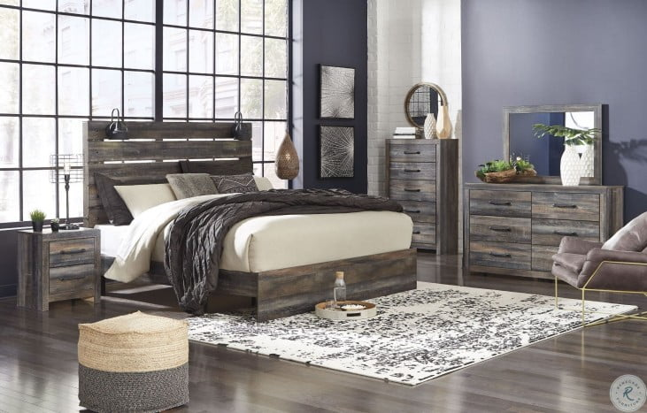 Drystan Multi Panel Bedroom Set