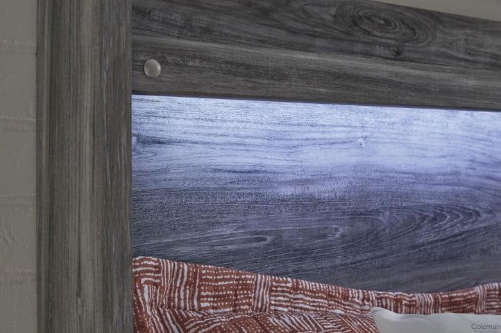 Baystorm Gray Queen Platform Single Underbed Storage Bed