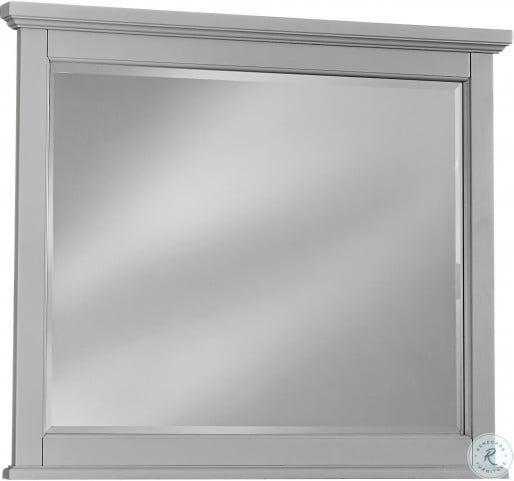 Bonanza Gray Landscape Mirror