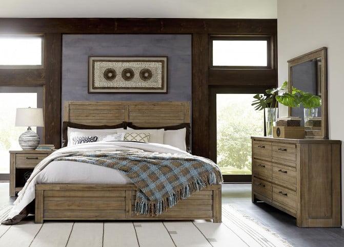 Soho Natural Wood Nightstand