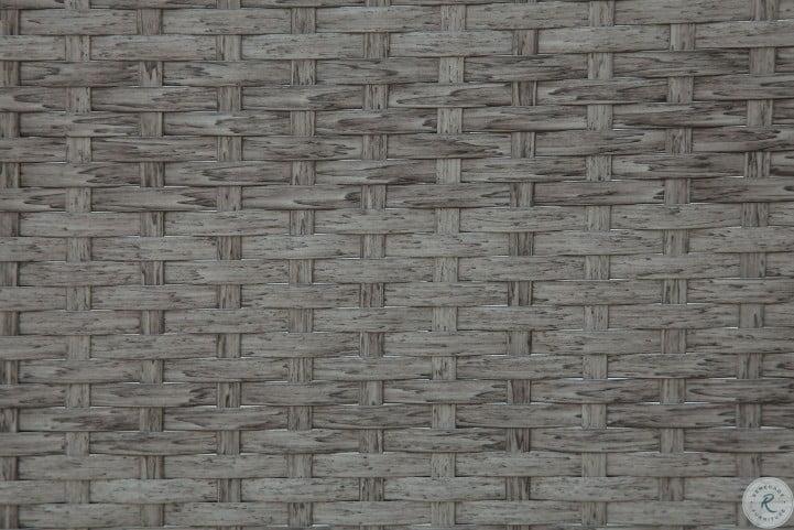 Somani Gray and Ivory Outdoor Sofa