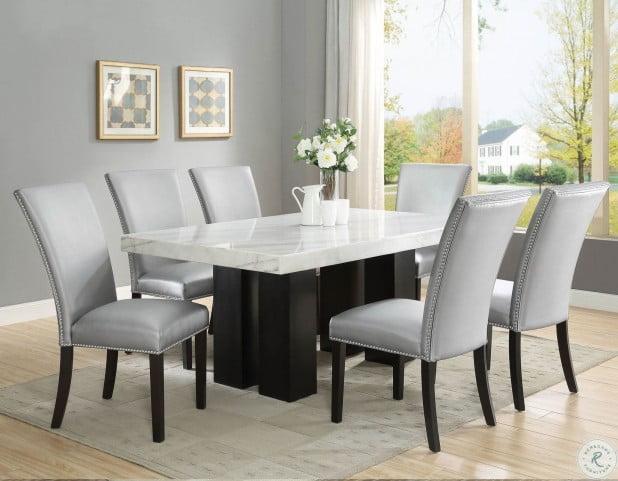 Camila Espresso Rectangle Dining Room Set