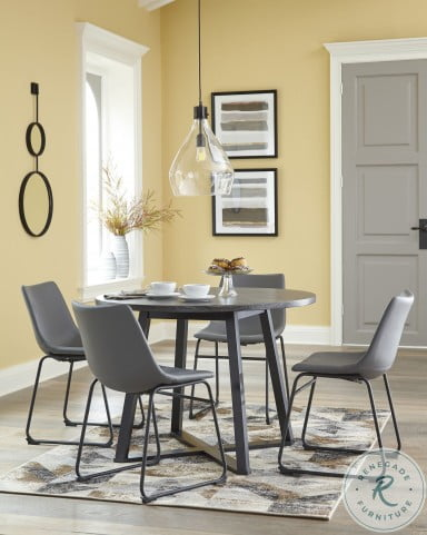 Centiar Gray Side Chair Set Of 2
