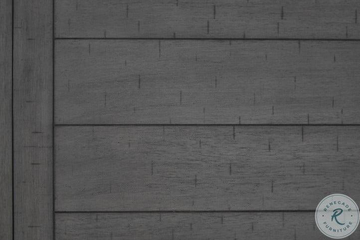 Myshanna Gray Rectangular Extendable Counter Height Dining Room Set