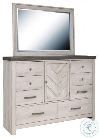 S466-035 Brown Dresser Mirror