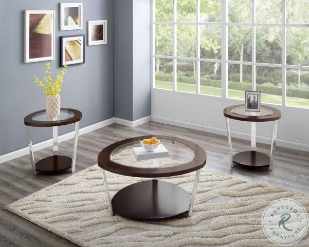 Duncan Espresso Occasional Table Set