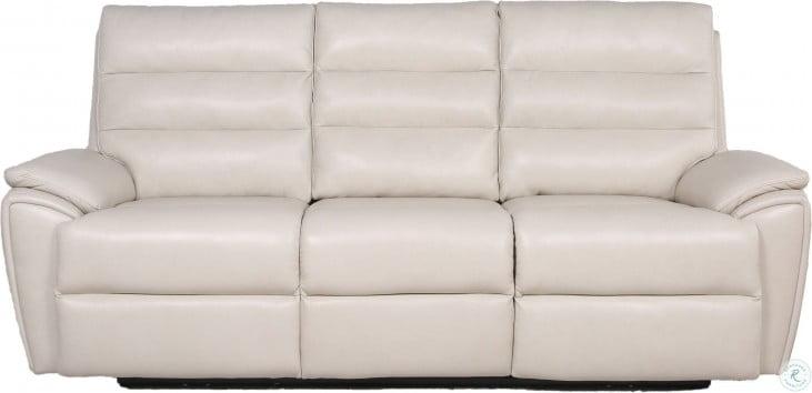 Duval Ivory Power Reclining Sofa