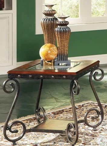 Ellery Medium Cherry End Table