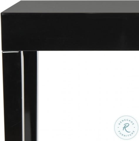 Kayson Black Laquer Lacquer Console Table